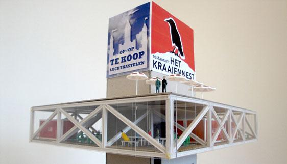 Paneel prijsvraag Den Haag architectenbureau Roodkapje