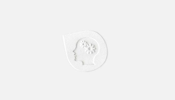 Logo & huisstijl met iconen & preeg
