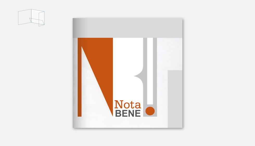 Logo & huisstijl ensemble Nota Bene uit Belgie