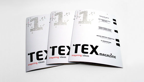 Covers nieuw TEX magazine Texperience Center