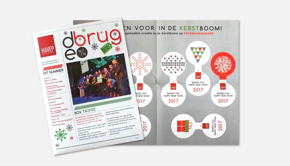 Nieuwsbrief met kerstspecial voor HAVEP in Goirle