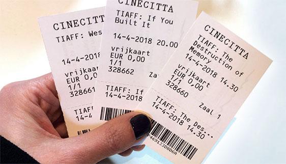 Presentatie & flyer TIAFF 2018 Cinecitta