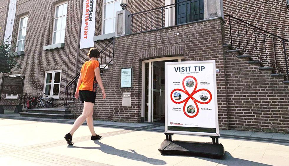 Affiches & signing Toeristisch Informatiepunt Heusden