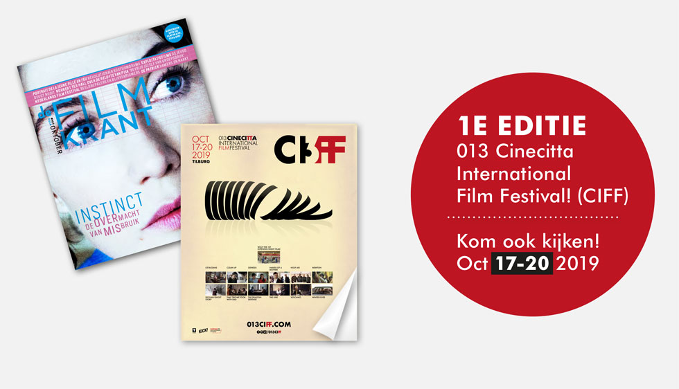 Advertentie filmkrant 013CIFF Cinecitta