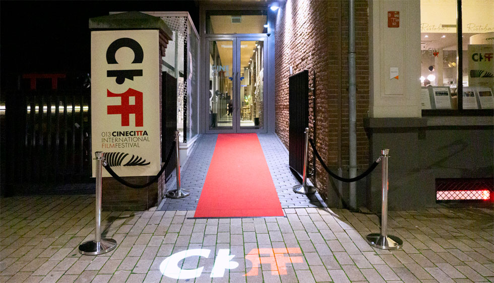 Merchandising voor Cinecitta 013 filmfestival 013CIFF in Tilburg