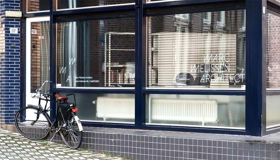 Huisstijl & website Marc Melissen Architect