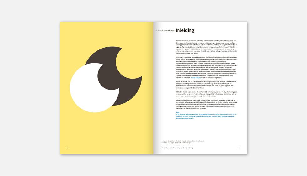 Brochure Stichting Blauwe Maan