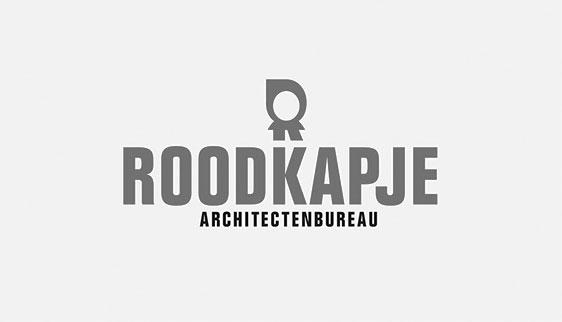 Huisstijl voor architectenbureau Roodkapje